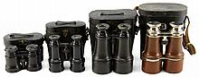 19th CENTURY BINOCULARS LOT OF 4