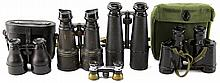 VINTAGE BINOCULARS LOT OF 5