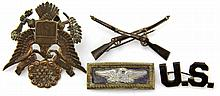 US INSIGNIA LOT TIFFANY & CO BADGE