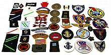 OVER 40 MIXED US PATCHES