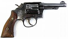 SMITH & WESSON MODEL 10 REVOLVER .38 SPL