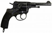 SOVIET NAGANT MODEL 1895 REVOLVER NO IMPORT MARKS