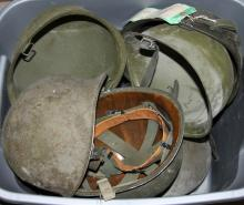 US M-1 HELMET LOT OF 10
