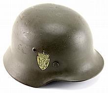 POST WWII NORWEGIAN HELMET