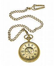 POCKET WATCH WITH METEORITE