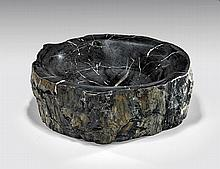 FINE PETRIFIED WOOD BOWL