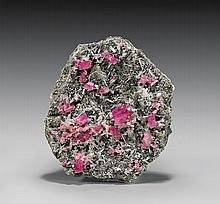 FINE SWEET HOME RHODOCHROSITE CRYSTALS ON MATRIX