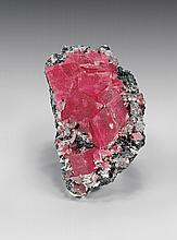 SUPERB RHODOCHROSITE CRYSTAL MATRIX