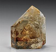 FINE RUTILATED CITRINE POINT