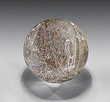 LARGE RUTILATED QUARTZ SPHERE