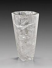 QUARTZ CRYSTAL VASE