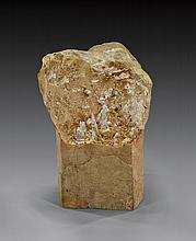 QUARTZ WITH ANATASE ON LIGHT BASE
