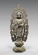 ANTIQUE CHINESE BRONZE BUDDHA