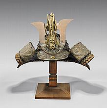 ANTIQUE JAPANESE SAMURAI HELMET
