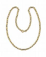 18K YELLOW GOLD NECKLACE BY LA PEPITA