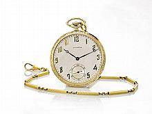 14K YELLOW GOLD WALTHAM POCKET WATCH