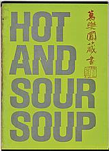 HOT AND SOUR SOUP BOOK & POSTER BY WALASSE TING