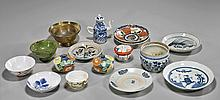 Sixteen Various Antique & Old Dishes