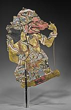 Indonesian Shadow Puppet of a Kasar