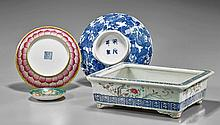 Four Various Chinese Porcelains