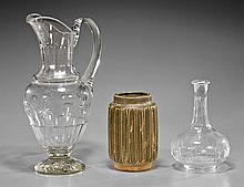 Three American Vessels: Glass & Pottery