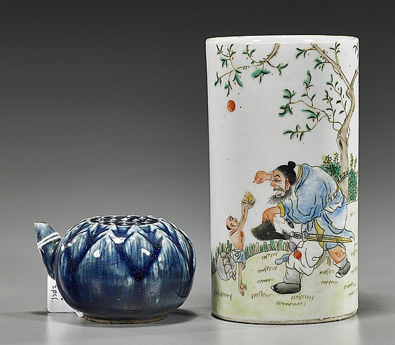 Two Various Old Chinese Porcelains