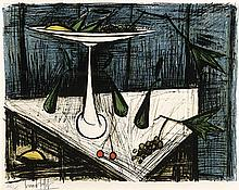 FRENCH LITHOGRAPH BY BERNARD BUFFET