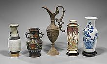 Five Chinese & Japanese Vessels