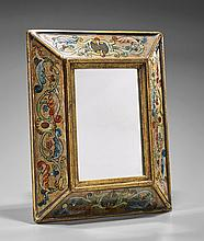 Decorative Hand Painted Wall Mirror