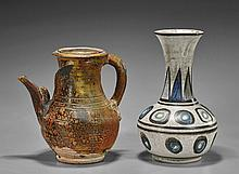 Two Southeast Asian Pottery Vessels