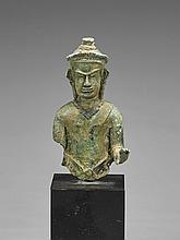 Southeast Asian Bronze Figure