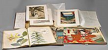 Three Japanese Woodblock Books