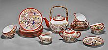 Japanese Tea Set for Six: Courtly Ladies