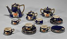 Japanese Porcelain Tea Set for Six