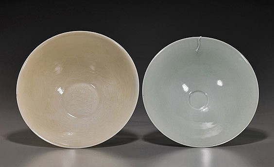 Two Chinese Glazed Porcelain Bowls