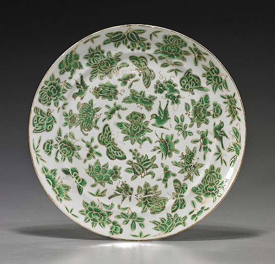 Antique Chinese Export Porcelain Dish