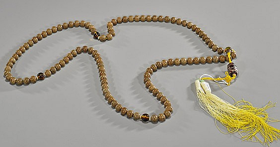 Chinese Court-Type Seed Bead Necklace