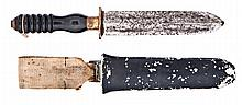 A MID 20TH-CENTURY DIVER'S KNIFE