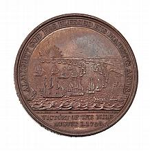 ALEXANDER DAVISON'S MEDAL FOR THE BATTLE OF THE NILE, 1798