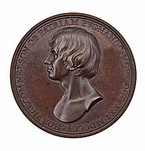 A COMMEMORATIVE MEDALLION FOR THE DEATH OF NELSON