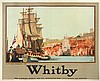 Whitby: A CAPTAIN COOK ADVERTISING POSTER, CIRCA 1935