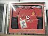 Ruud Van Nistelrooy signed shirt in frame