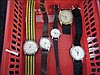 Collection of 5 working vintage Timex watches