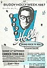 Paul McCartney signed to Buddy Holly Week 1987 A4