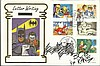 Bob Kane 1994 Batman first day cover signed by