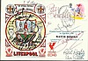 Liverpool FC multi-signed 1988 Liverpool cover for