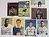 Football signed collection of eight mainly 6 x 4