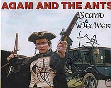 Adam Ant  8x10 Colour signed Photo. Good condition