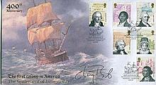 CHAY BLYTH    -    Buckingham covers Abolition of Slavery FDC signed by Sir Chay Blyth. Good condition