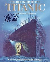 Dr Robert Ballard. 10 x 8  picture of 'Titanic.' Excellent Condition